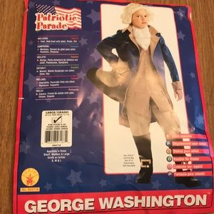 Boy's Size 12/14 George Washington Costume